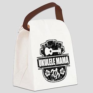 Ukulele Mama Canvas Lunch Bag