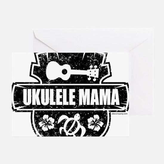 Ukulele Mama Greeting Card