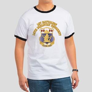 DUI - 1st Bn, 15th Infantry Regiment With T Ringer