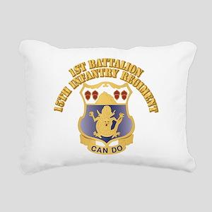 DUI - 1st Bn, 15th Infantry Regiment With T Rectan