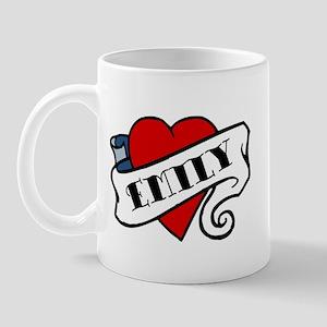 Emily tattoo Mug