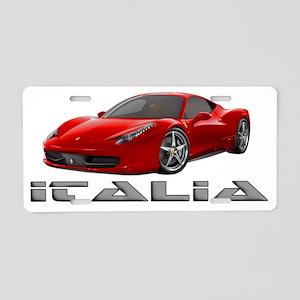 Ferrari-Italia2011 Aluminum License Plate