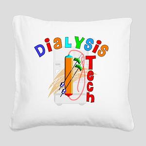 Dialysis Tech 2011 Square Canvas Pillow