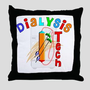 Dialysis Tech 2011 Throw Pillow