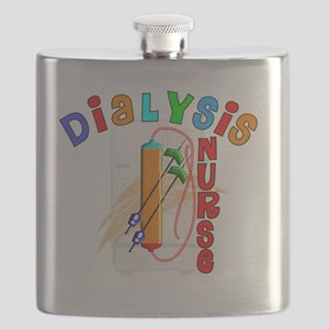 Dialysis Nurse 2011 Flask
