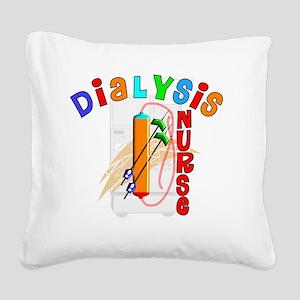 Dialysis Nurse 2011 Square Canvas Pillow