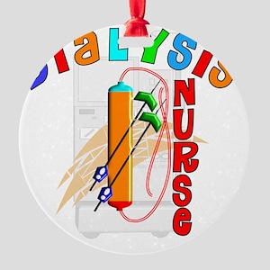 Dialysis Nurse 2011 Round Ornament