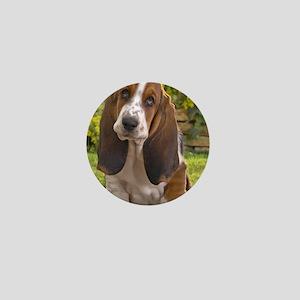Basset puppy ipad Mini Button