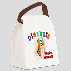 dialysis social worker 2011 Canvas Lunch Bag