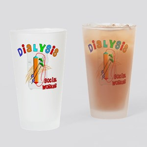 dialysis social worker 2011 Drinking Glass