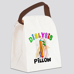 dialyisis pillow Canvas Lunch Bag