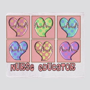 Nurse Educator new 2011 Throw Blanket