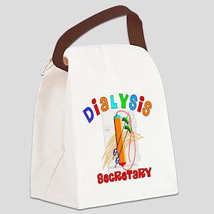 Dialysis secretary 2011 Canvas Lunch Bag