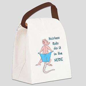 hairlessnobg Canvas Lunch Bag