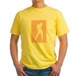 Silhouette Yellow T-Shirt