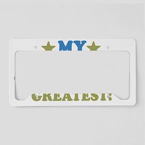 thinksgreataunt-01 License Plate Holder