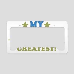 thinksgreatgrams-01 License Plate Holder