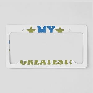thinksgreatgreataunt-01 License Plate Holder
