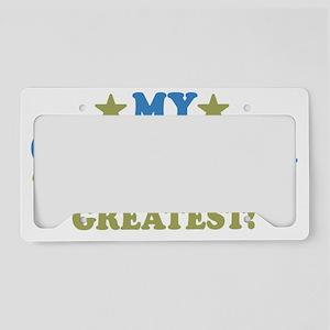 thinksgreatgreatnana-01 License Plate Holder