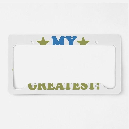 thinksgreatgreatpapa-01 License Plate Holder