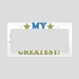 thinksgreatgreatuncle-01 License Plate Holder