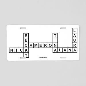 SUNSERI Aluminum License Plate