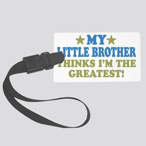 thinksgreatlilbro-01 Large Luggage Tag