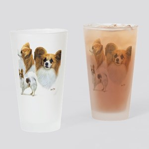 Papillons Drinking Glass