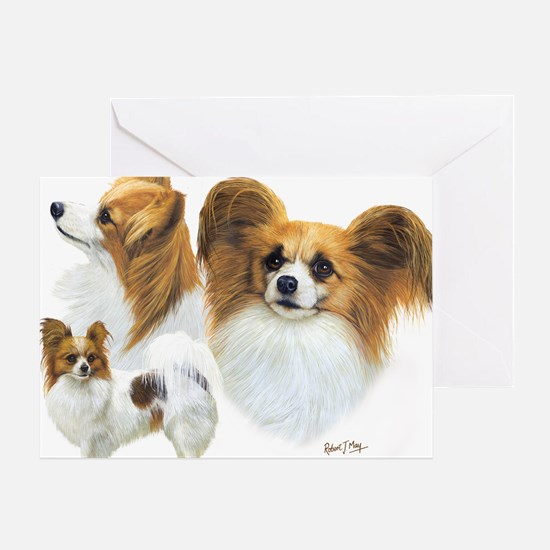 Papillons Greeting Card