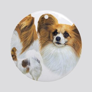 Papillons Round Ornament
