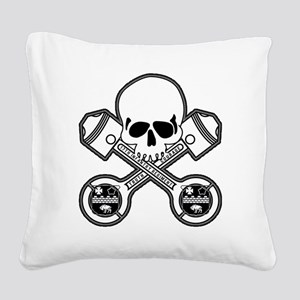 SKULL - MC - 17th Square Canvas Pillow