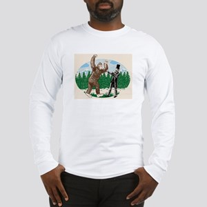 BigfootVsAbe Long Sleeve T-Shirt
