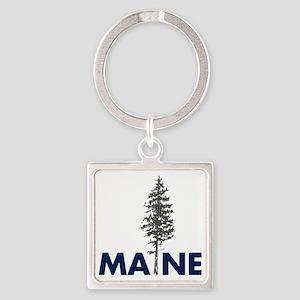 MaineShirt Square Keychain