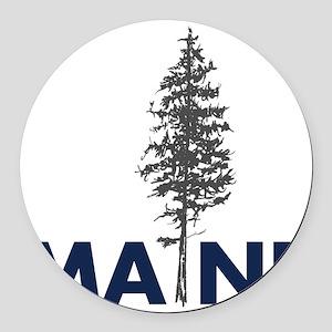 MaineShirt Round Car Magnet
