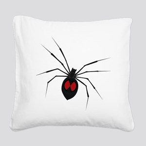 widow_001 Square Canvas Pillow