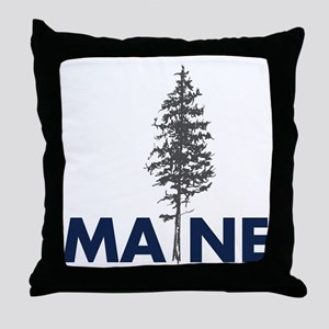 MaineShirt Throw Pillow