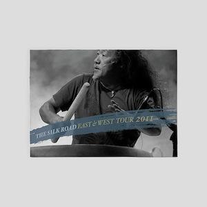 Kitaro Tour 2011-1 5'x7'Area Rug