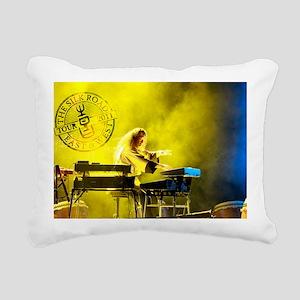 Kitaro Tour 2011-3 Rectangular Canvas Pillow
