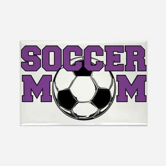 Funny Soccer mom Rectangle Magnet