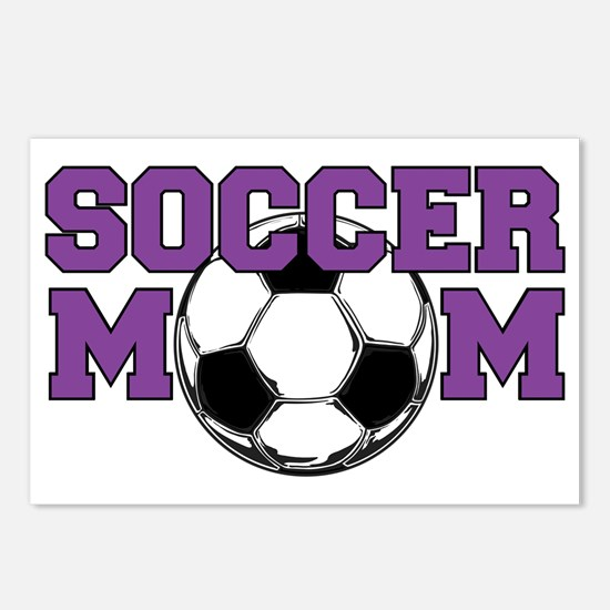 Cute Soccer mom Postcards (Package of 8)