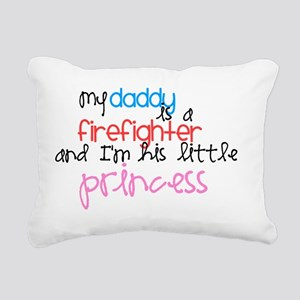 daddysprincess Rectangular Canvas Pillow