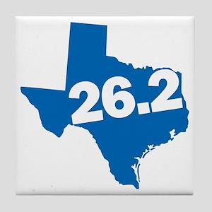 Texas Marathoner Tile Coaster