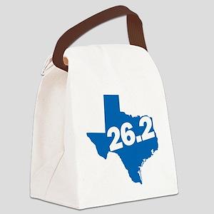 Texas Marathoner Canvas Lunch Bag
