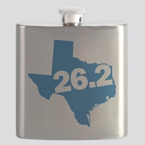 Texas Marathoner Flask