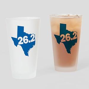Texas Marathoner Drinking Glass