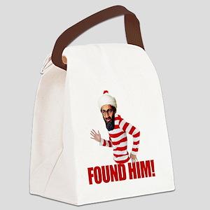 foundosama Canvas Lunch Bag