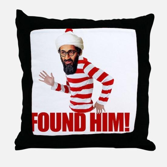 foundosama Throw Pillow