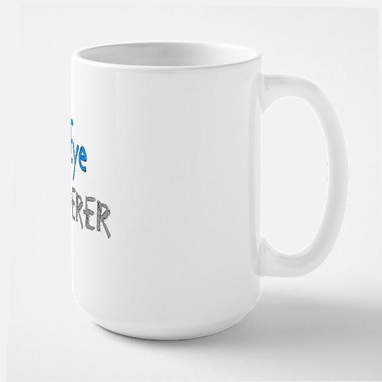 The eye whisperer Large Mug