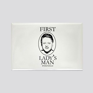 First Lady's Man Rectangle Magnet