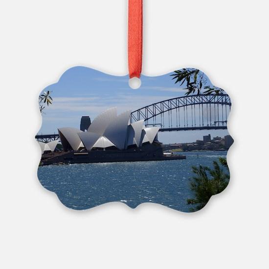 Opera House and Bridge Ornament